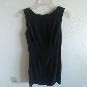 Form Fitting Little Black Dress Size 4